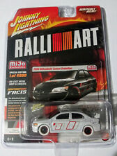 2004 MITSUBISHI LANCER EVOLUTION MIJO RALLI ART WHITE LIGHTNING CHASE CAR
