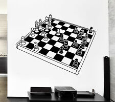 Wall Stickers Vinyl Decal Chess Intelectual Game Decor For Living Room (z2000)