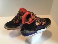 Kids Air Jordan Spizike BG Athletic Shoes Boy's Size 4.5Y Leather #317321-125
