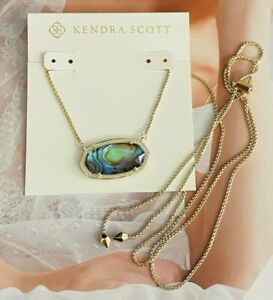 Kendra Scott Delaney Pendant Necklace In golden
