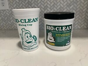 New Bio Clean Drain & Septic Bacteria - (2 lb.) With Mixing Cup