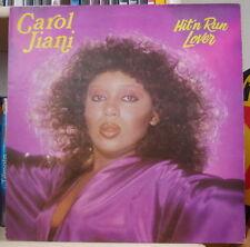 "CAROL JIANI ""HIT'N RUN LOVER""  FRENCH LP FLARENASCH 1981"