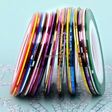 30Pcs Rolls Striping Tape Line DIY Nail Art Tips Decoration Sticker ED