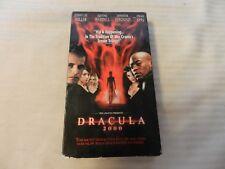 Dracula 2000 (VHS, 2001) Jennifer Esposito, Omar Epps, Jonny Lee Miller