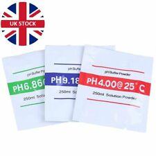 PH BUFFER SOLUTION POWDER - pH 4.00 / 6.86 / 9.18 Multiple Quantities