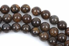 6mm Round BRONZITE Gemstone Beads, FULL strand, about 65-66 beads, gbr0003
