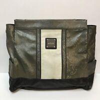Miche Bag Erin Prima Size Purse Shell Only Green Paisley Cream Black Retired