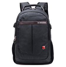 Grey Counter Genuine Swiss Army Backpack Laptop Bag Fashion Leisure Bag