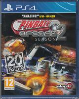 The Pinball Arcade Season 2 PS4 Sony PlayStation 4
