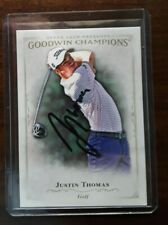 Golfer Justin Thomas Autographed Signed Upper Deck Card PGA Alabama U no COA