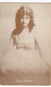 VIVIAN MARTIN - hollywood SILENT/talkies SCREEN 1920s  ARCADE/EXHIBIT postcard