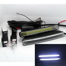 12V-24V 2pcs 20W Super Bright 6000K Xenon White LED Light DRL Driving Fog Lamps
