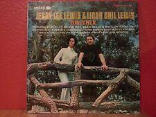 """Jerry Lee Lewis & Linda Gail Lewis (1969 VG) """"TOGETHER"""" SMASH # SRS 67126"""