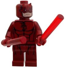 Lego Minfigure Daredevil Custom Printed With Free Collector Card
