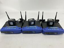 Linksys WRT54G 2.4 GHz/54 Mbps 4-Port 10/100 Wireless G Router (Lot of 3)