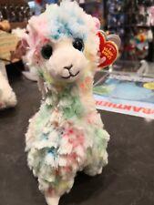 Ty Beanie Babies Reg Lola Multicolour Llama From Mr Toys