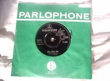 THE BEATLES,SHE LOVES YOU,1963,44 GRAM CONTRACT PRESS?,PLAYS GREAT,VG+ CONDITION