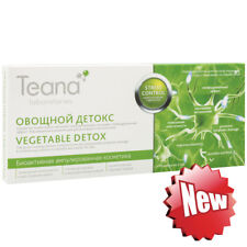 Vegetable Detox, Revolutionary Face serum to detoxify and nourish skin, 10x2ml