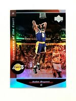 KOBE BRYANT 1999 UPPER DECK BASKETBALL SUPERSTARS OF THE COURT INSERT CARD #C8
