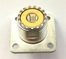 AMPHENOL Connecteur coaxial femelle de panneau UHF SO-239 83-1R