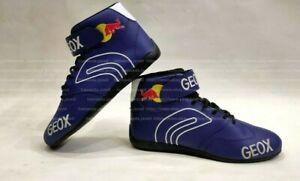 2014 Sebastian Vettel Racing Shoes F1 Boots Karting Shoes F1 Shoes Go Kart Shoes