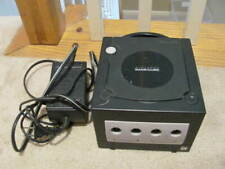 Nintendo DOL-101 GameCube Console + POWER   - Black-will not read discs(AS-IS)