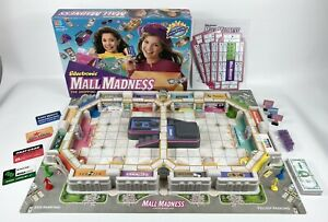 Electronic Mall Madness Board Game 1996 Milton Bradley Electronic Bank Works