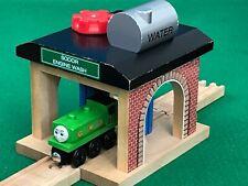 THOMAS & FRIENDS WOODEN RAILWAY SODOR ENGINE WASH for BRIO TRAIN SET