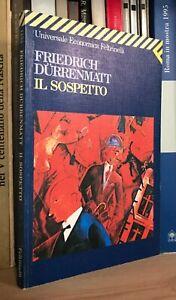 Friedrich Dürrenmatt Il sospetto Feltrinelli UE 1994 quinta edizione