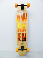 "Awaken Kicktail 9.5"" x 42"" Cruiser Longboard Complete"
