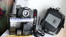 Panasonic LUMIX DMC-G80 M43 4K Ultra HD Camera Body Only 16.0 MP Wi-Fi + Extras