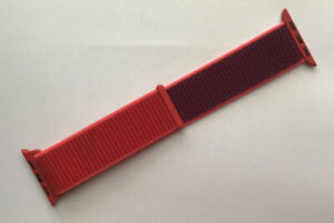 GENUINE Apple Watch Sport Loop Strap 40mm /38mm PRODUCT RED 2019 2 Tone