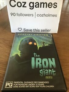 The Iron Giant Special Edition Original Australian Release Dvd Sci-fi Animated