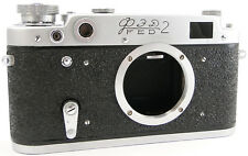 CLA'd 1960! FED-2 Type-D Russian Soviet USSR Rangefinder RF 35mm Camera M39 Body