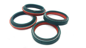 SKF Dual Compound Fork & Dust Oil Seals For YAMAHA YZ 250 8 2008