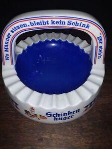 22 cm STAMMTISCH ASCHENBECHER Schinkenhäger Spirituosen