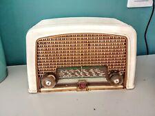 Radio TSF À Lampes Vintage Phillips  années 50