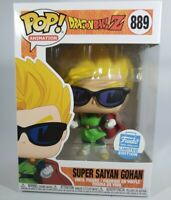 Funko Pop! DBZ Super Saiyan Gohan with Sunglasses Funko Shop Exclusive Protector