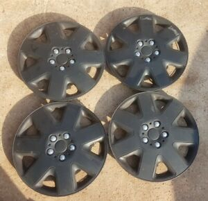 """set of 4 black 15"""" wheel trims > VAUXHALL > FORD > CITREON > PEUGEOT ect"""