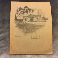 Antique Book Print - The Court House, Hartley - Sydney Ure Smith - 1917