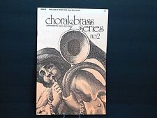 """1977 Sheet Music Booklet """"The Lord Is On My Side"""" Choral & Brass Series #2 New C"""
