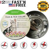 Dewel Cheaper than Seresto! Flea Tick Collar for Small Cat  8 Month Protection