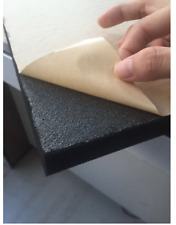 8 PCS Acoustic Wedge Foam Black Sound Sponge with Self Adhesive Factory directly