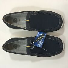 Clarks Cloudsteppers Mens Marus Step Size 8.5 Loafer Navy Blue