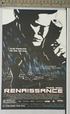 Renaissance Movie RARE Print Advertisement
