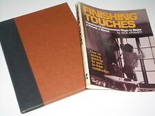 Finishing Touches by Jack Kramer(1978, HCDJ) Ways to make a House a Home Wood
