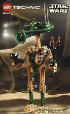 LEGO PIT DROID 8000 Set Star Wars Technic figure robot Episode 1