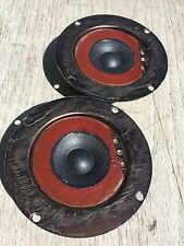 Pair (2) Marantz 4 ohm CTS Tweeters 841-1018 Imperial Excellent Drivers