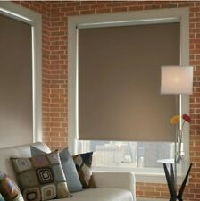 New listing Pair of Blackout roller blinds 57x51 inches Black - New!