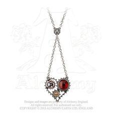 Alchemy of England Coeur du Moteur Heart Necklace Steampunk